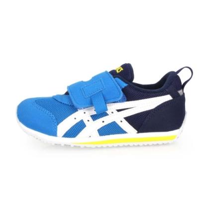 ASICS IDAHO MINI 男女兒童慢跑運動鞋-路跑 寶藍丈青白