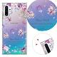 YOURS 三星 Galaxy Note10+ 6.8吋 奧地利彩鑽防摔手機殼-紫宴 product thumbnail 1