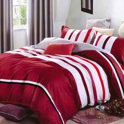 Carolan 品尚-紅  單人床包枕套組