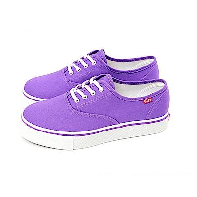 【TOPGIRL】繽紛輕柔厚底帆布鞋-紫
