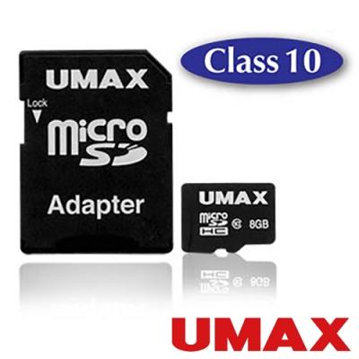 UMAX microSDHC Class10 8GB 記憶卡