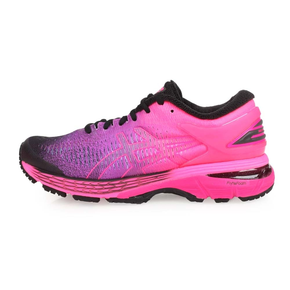 ASICS GEL-KAYANO 25 SP 女慢跑鞋-路跑  螢光粉紫