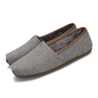 Skechers 休閒鞋 Bobs Plush 懶人鞋 女鞋