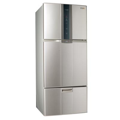 福利品 SAMPO聲寶 530L 2級變頻3門電冰箱 SR-A53DV(Y2) 炫麥金