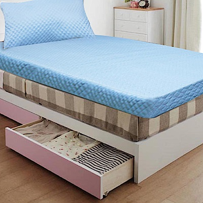 Gloria  高週波+防潑水 8cm竹炭記憶床墊  雙人送防潑水枕頭墊
