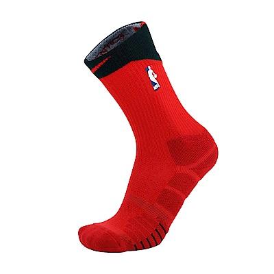 NIKE NBA QUICK籃球長筒襪 紅色SX6361659