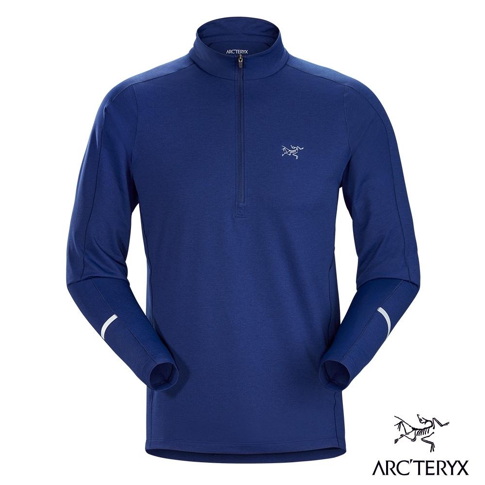 Arcteryx 始祖鳥 男 Cormac 快乾 長袖套頭衫 哈伯藍