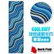 North Field COOL BUFF 百變繽紛款 降溫速乾吸濕排汗涼感運動毛巾_藍色波紋 product thumbnail 1