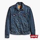 牛仔外套 男裝 Type 3 修身版型 靛藍洗色 - Levis