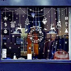 時尚壁貼- 聖誕素材吊飾
