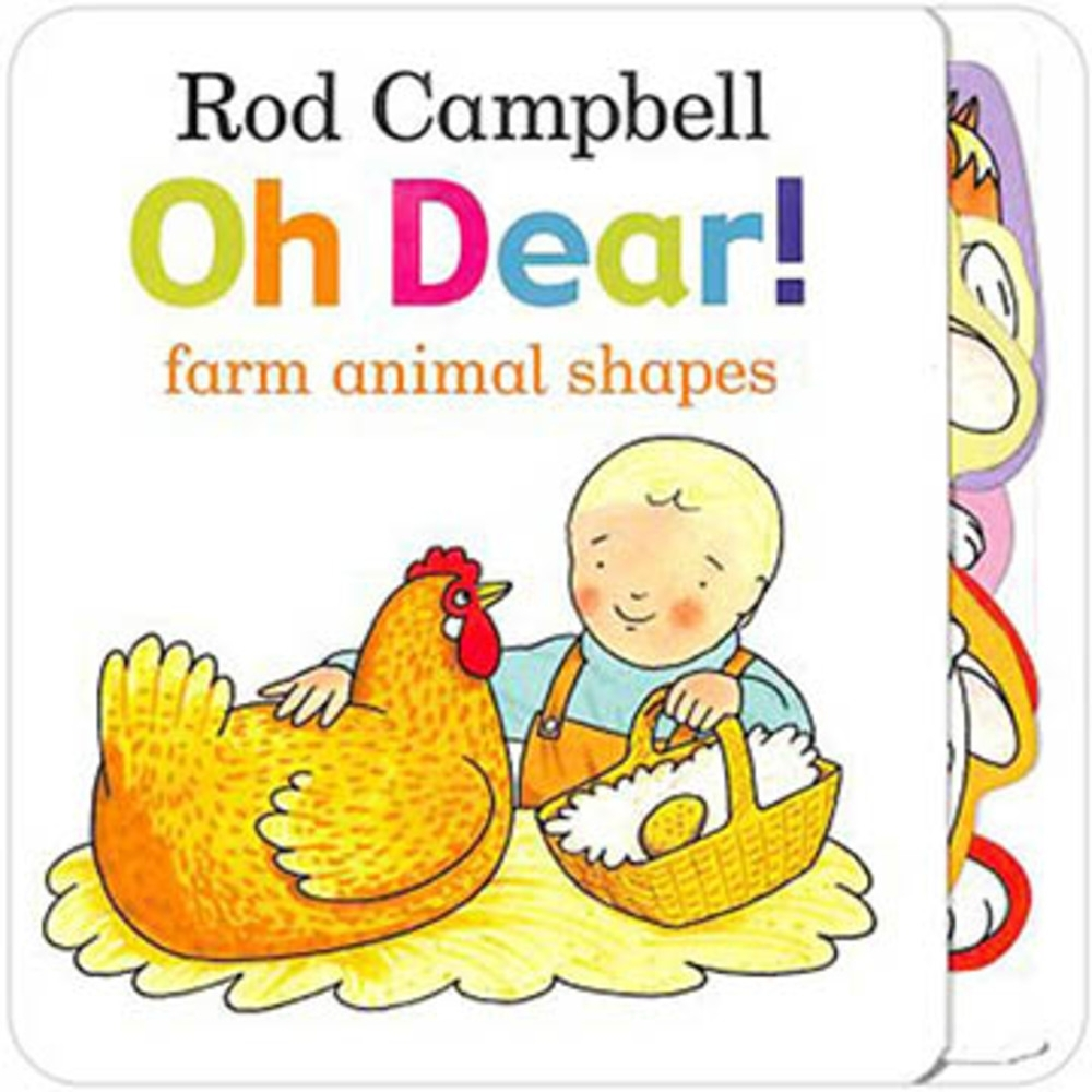 Oh Dear! Farm Animal Shapes 雞蛋在那裡?精裝硬頁書