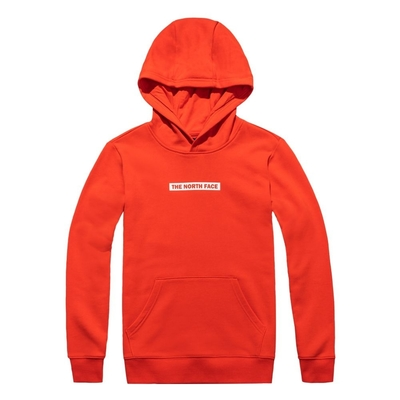 The North Face 男女 連帽大學T 紅-NF0A4UDK15Q