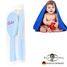 BRAUN WETTBURG特長山羊毛 寶寶 嬰兒用髮梳與齒梳淺藍色套組   (一入)