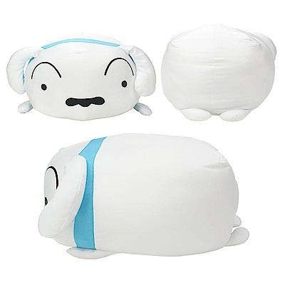 【蠟筆小新】正版授權 可愛趴姿 造型抱枕  小白