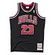 M&N Authentic球員版復古球衣 公牛隊 97-98 #23 Michael Jordan product thumbnail 1