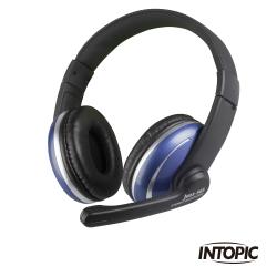 INTOPIC 廣鼎 頭戴式耳機麥克風(JAZZ-565)