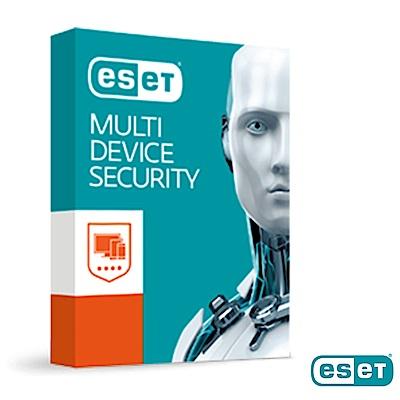 ESET MULTI-DEVICE SECURITY網路安全套裝多平台版三年十台裝置