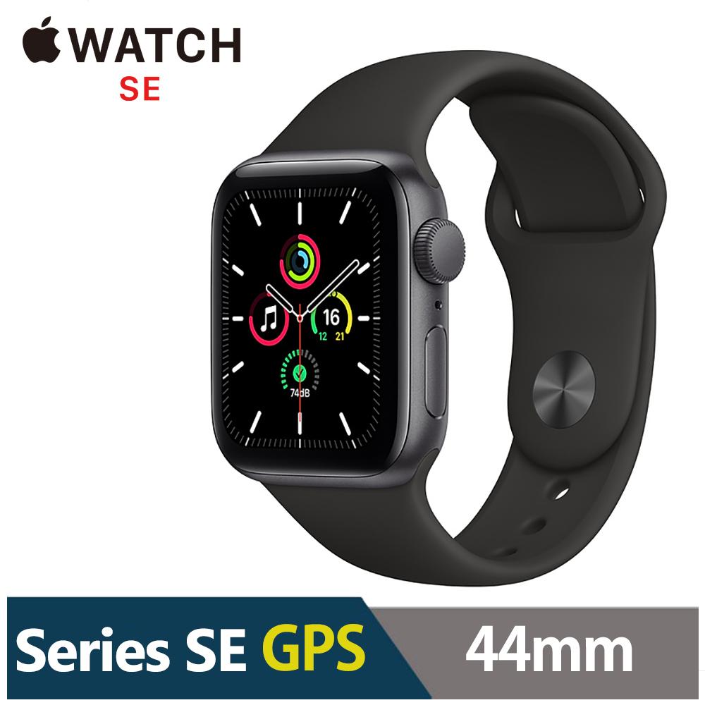 Apple Watch SE 44mm 鋁金屬錶殼配運動錶帶(GPS) product image 1