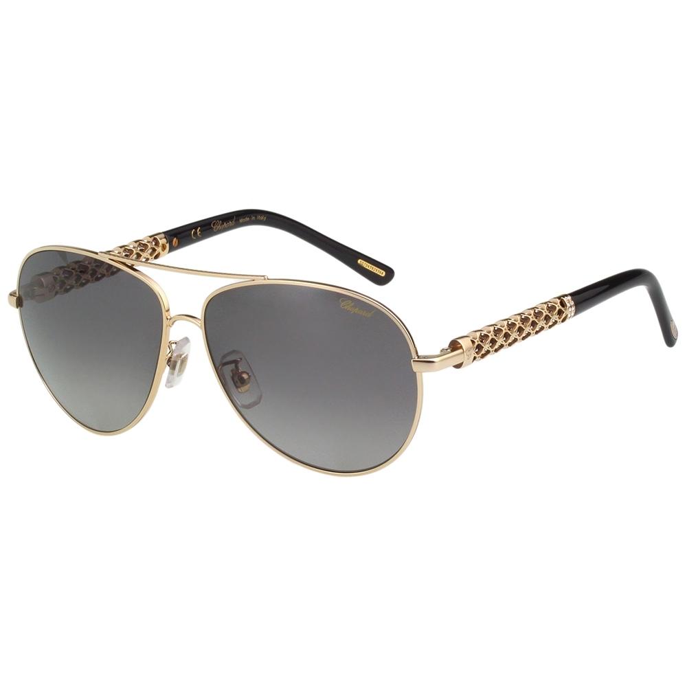 Chopard 偏光 水鑽 太陽眼鏡(金色)SCHB66S-300P