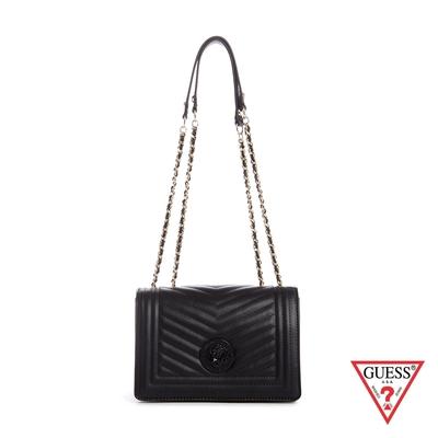 GUESS-女包-時尚氣質小香風肩背包-黑 原價3090