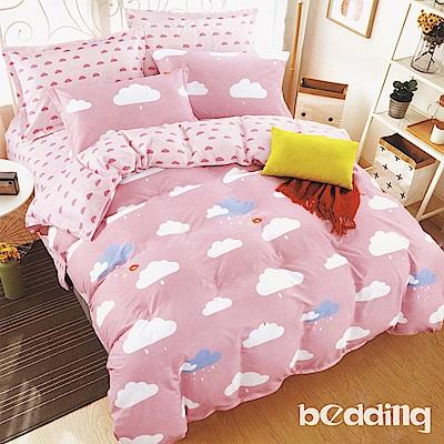 BEDDING-活性印染3.5尺單人薄床包涼被組-午後浪漫