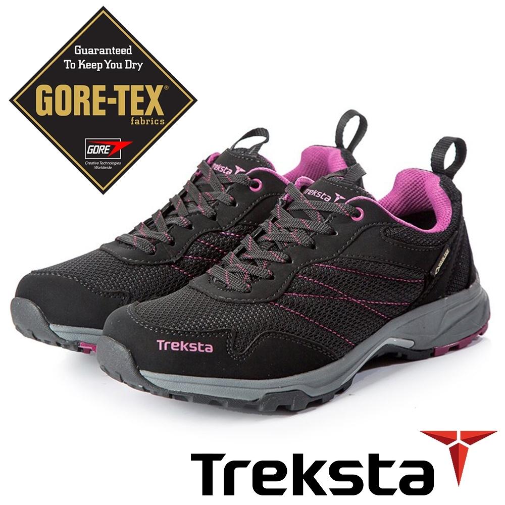 Treksta STA LACE101 女 GTX 防水低筒健行鞋『紫』KR20AW