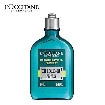 L'OCCITANE 歐舒丹 枸櫞海洋雙效沐浴膠250ml