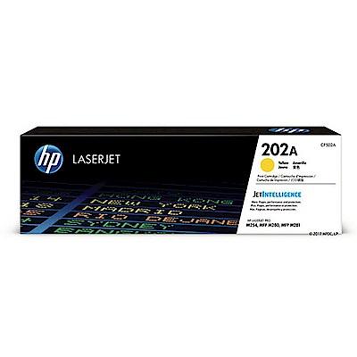HP CF502A  LaserJet原廠黃色碳粉匣