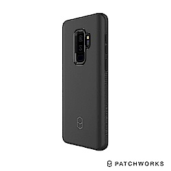 Patchworks Samsung S9 Plus 軍事工程防摔殼-黑
