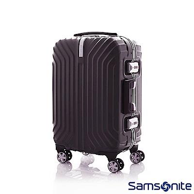 Samsonite新秀麗 20吋Tru-Frame PC時尚硬殼鋁框登機箱(碳黑)
