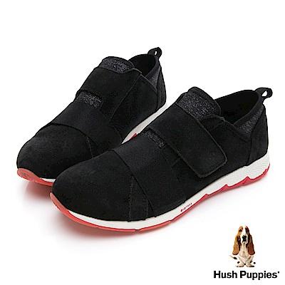 Hush Puppies CESKY 動能健走鞋-幻黑