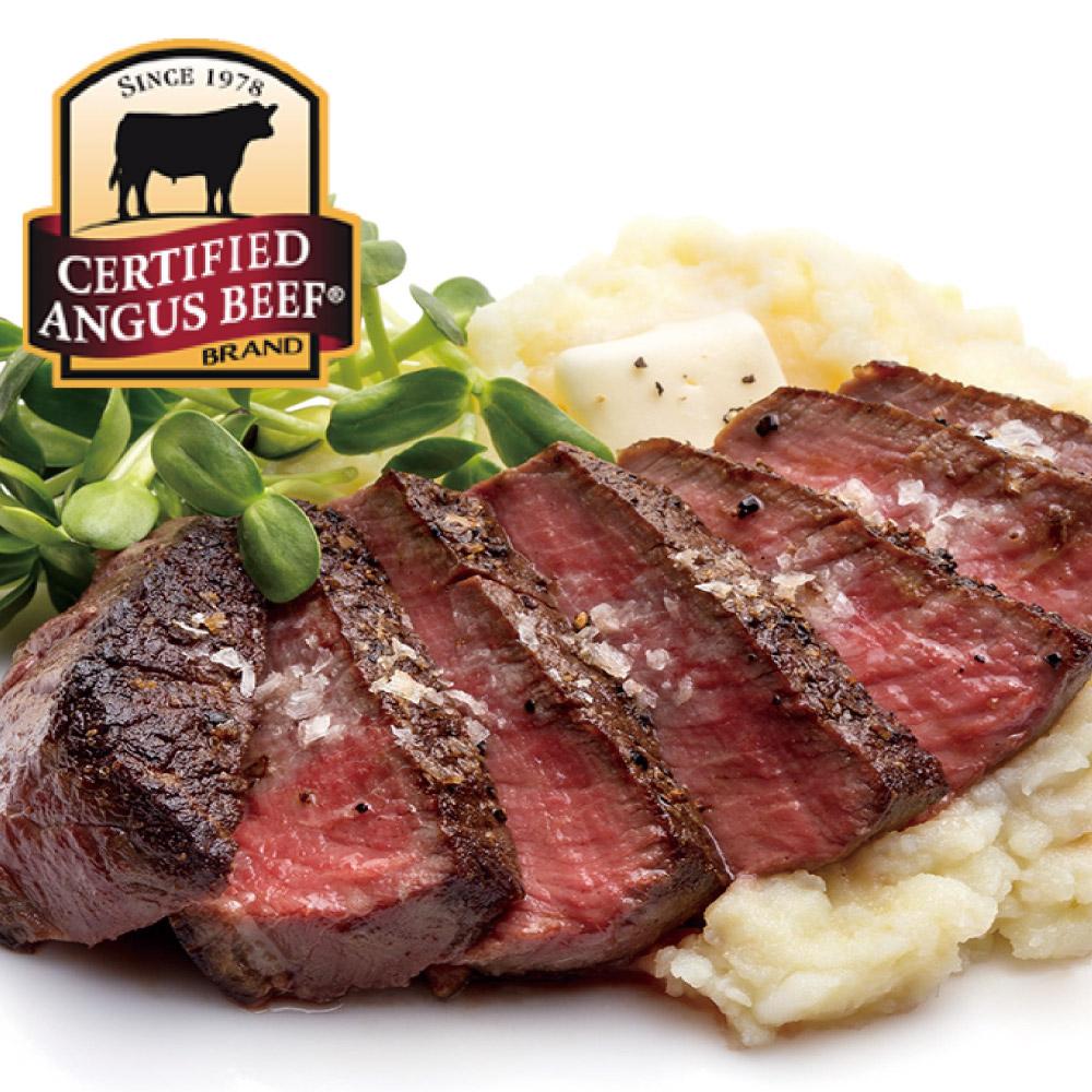 豪鮮牛肉 黑安格斯PRIME凝脂嫩肩牛排5片(100G+-10%/片)