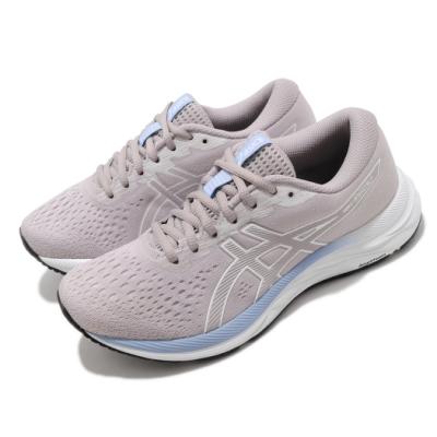 Asics 慢跑鞋 Gel Excite 7 D 寬楦 女鞋 亞瑟士 路跑 輕量 避震 緩衝 入門款 灰 白 1012A561250