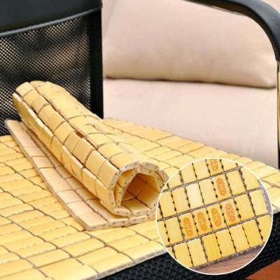 沁涼燙花小粒麻將坐墊 -三人座 43.5X148.5cm