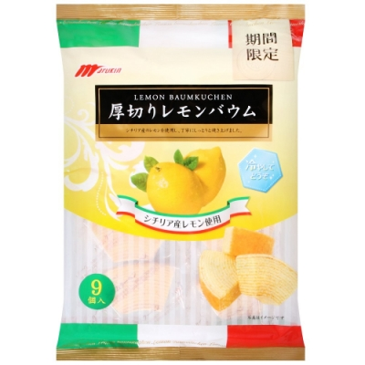 Marukin 厚切年輪小蛋糕-檸檬(225g)