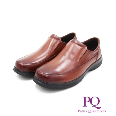 PQ(男)圓頭素面莫卡辛 樂福鞋 開車鞋 男鞋 -棕(另有黑)
