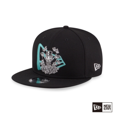 NEW ERA 9FIFTY 950 大富翁 NE LOGO 黑 棒球帽