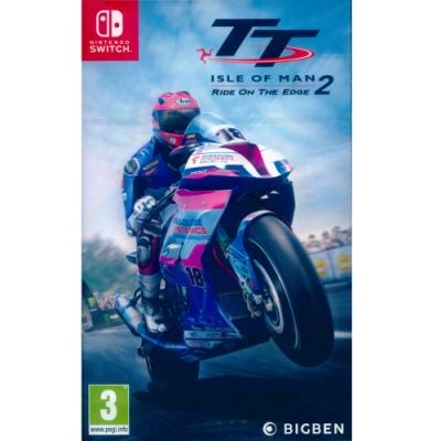曼島旅行者盃:極限邊緣 2 TT Isle of man Ride on the Edge 2 - NS Switch 中英文歐版
