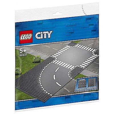 【LEGO樂高】城市系列 60237 彎道和十字路口
