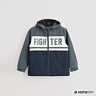 Hang Ten -童裝 -ThermoContro-配色拼接機能休閒外套-灰