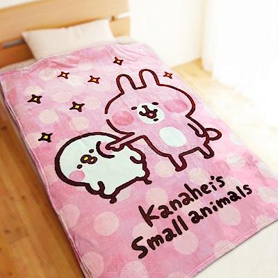 享夢城堡法蘭絨毯100x150cm-卡娜赫拉的小動物Kanahei戳戳樂