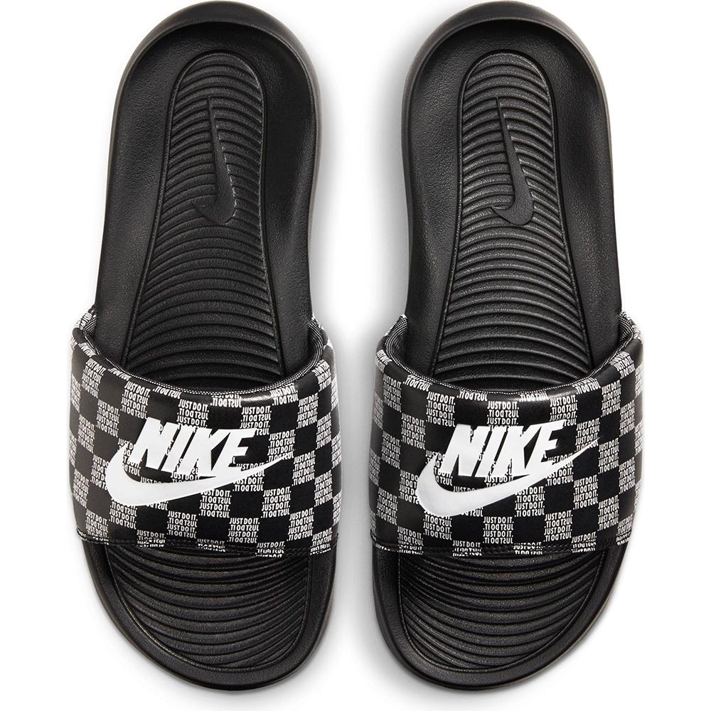 NIKE 拖鞋 運動拖鞋  男女鞋  黑 CN9678004 VICTORI ONE SLIDE PRINT