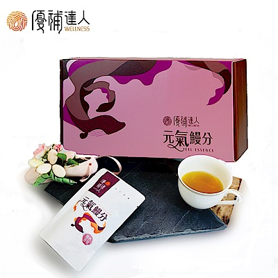 優補達人 優鈣珍珠鰻魚精(20包/盒)(冷凍) 贈送2包