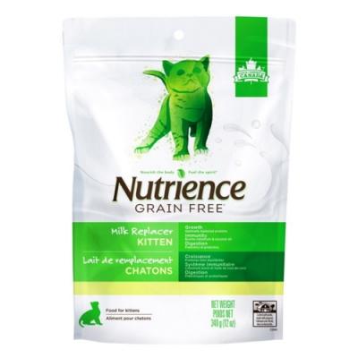 加拿大Nutrience紐崔斯GRAIN FREE-幼貓初乳奶粉 340g(12oz) (2包組) 購買第二件贈送全家禮卷100元*1張