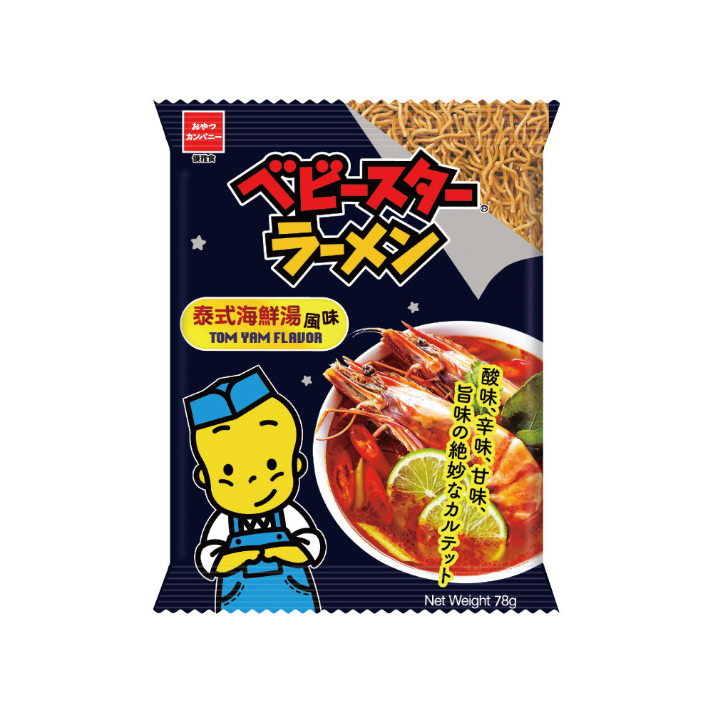 OYATSU點心餅-泰式海鮮湯風味(78g)