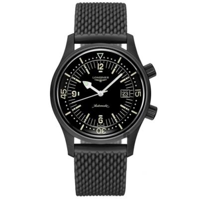 LONGINES 浪琴 Legend Diver 深海潛將復刻版潛水錶-42mm L37742509