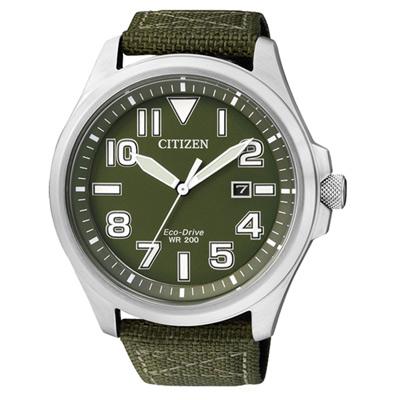CITIZEN Eco-Drive 穿梭飛越時尚運動腕錶(AW1410-32X)