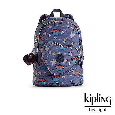 Kipling後背包閃電眼罩猴-中