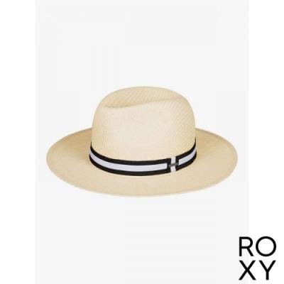 【ROXY】HERE WE GO 草編帽 米