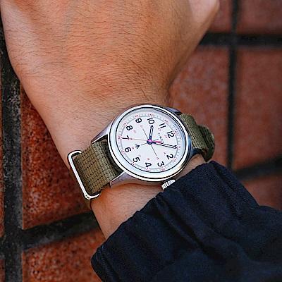 TIMEX xTODD SNYDER聯名限量MILITARY復古軍用腕錶組-軍綠/40mm